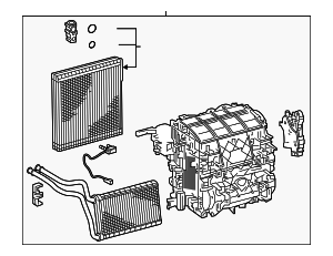 HVAC Unit Case Assembly - Toyota (87050-12860)