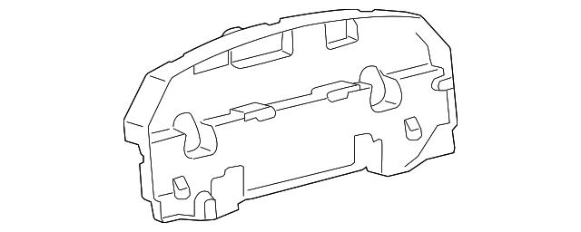 2013 2015 Lexus Lx570 Rear Cover 83821 60y40