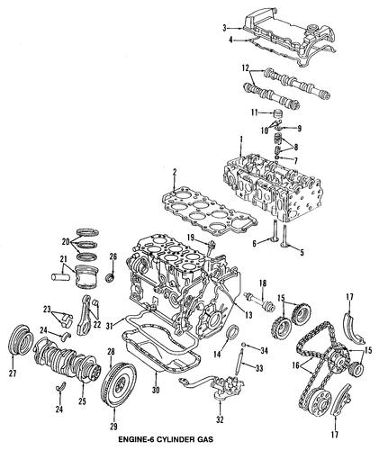 Timing Gear Set Volkswagen 022 109 087 J