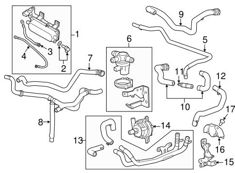 Oem 2012 Chevrolet Volt Powertrain Control Parts