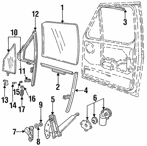 Front Door For 1996 Ford F 250