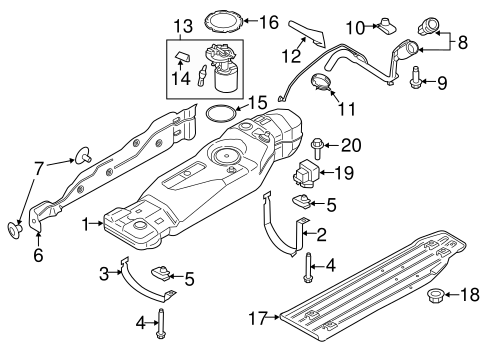 Fuel System Components for 2018    Ford       F      150      TascaParts