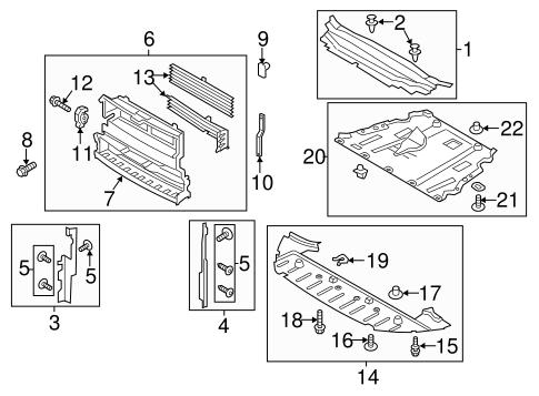 2013 ford fusion parts diagram