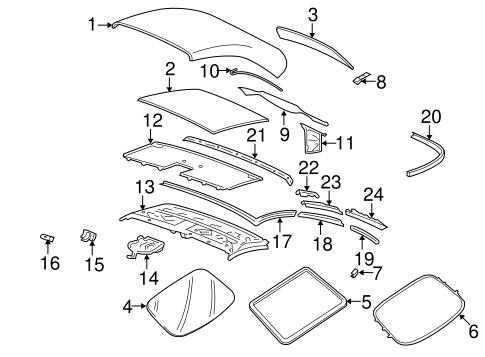 Cover Components For 2000 Porsche 911