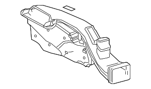 Air Inlet - Toyota (17750-F0010)