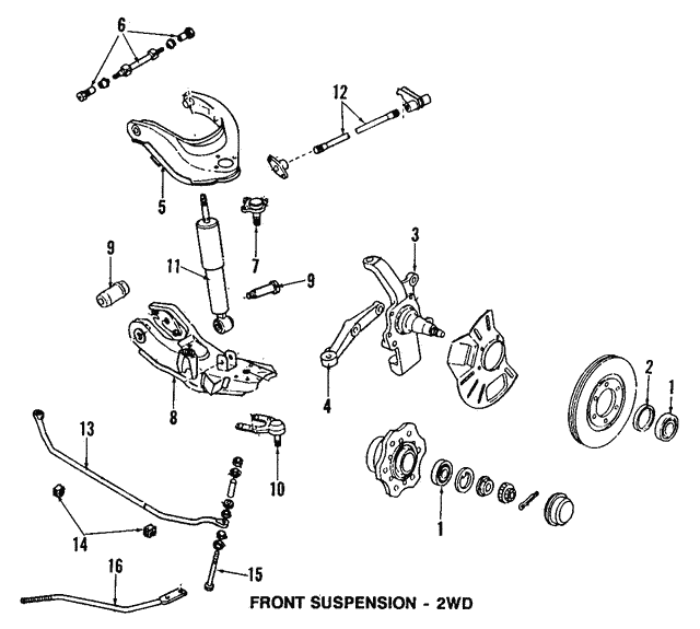 Suspension Ball Joint Front Lower Verto USA CH:K8433