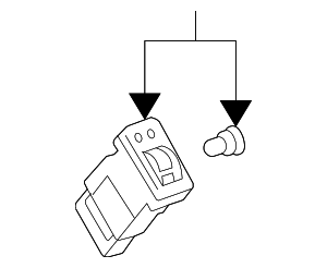 Seat Heat Switch - Toyota (84751-AE020)
