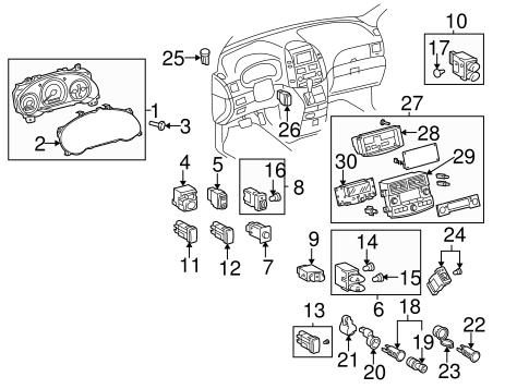 Switches For 2006 Toyota Sienna Bristol Toyota Parts
