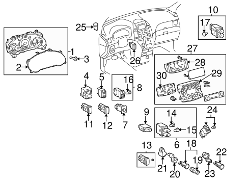 ELECTRICAL/SWITCHES for 2007 Toyota Sienna #3