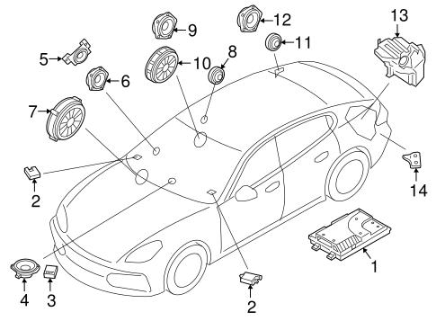 Sound System For 2017 Porsche Panamera