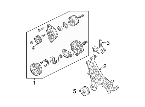 alternator for 2003 mitsubishi montero sport es auto parts. Black Bedroom Furniture Sets. Home Design Ideas
