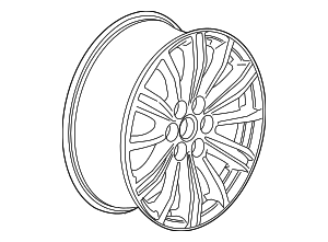 Wheel, Alloy - GM (22996318)