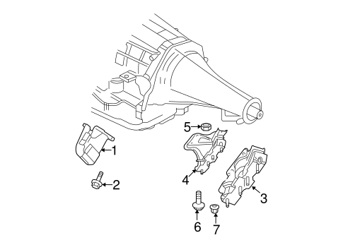 Engine Trans Mounting For 2007 Dodge Ram 1500