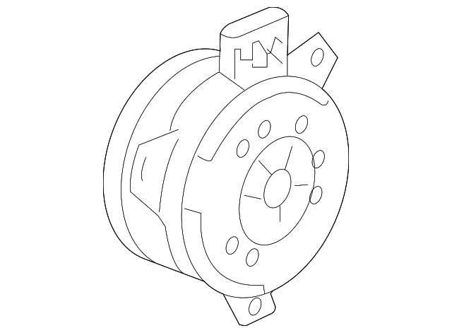 Fan Motor Gm 19130470 Gm Parts Club