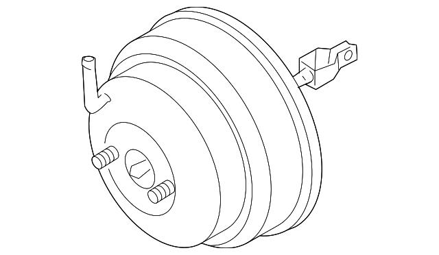 Genuine Nissan Brake Booster 47210 7b400