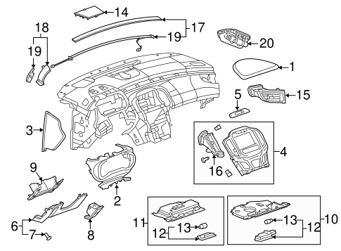Steering Gear And Linkage Scat additionally Center Pillar And Rocker Scat further Rear Suspension Scat in addition Bumper And  ponents Front Scat besides Instrument Panel  ponents Scat. on 2016 chevrolet camaro copo