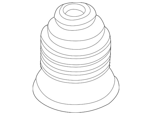 Bmw Z3 Antenna Mast Grommet 65 21 8 411 561 My Bimmer Parts