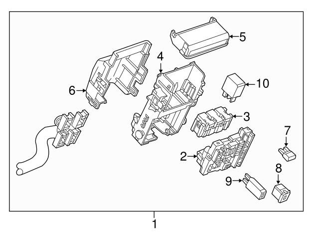 2016 Chevrolet Impala Wire Harness 23303887