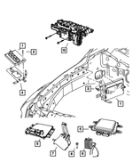 Keys, Modules and Engine Controllers for 2009 Chrysler Aspen
