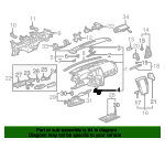 Instrument Panel Support Bracket