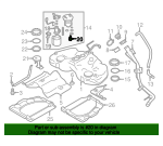 Fuel Pressure Regulator - Toyota (SU003-04155)