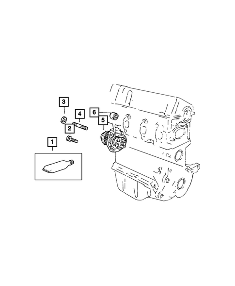 Water Pump and Related Parts for 2019 Fiat 124 Spider #1