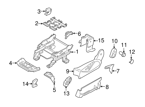 Body/Tracks & Components for 2016 Ford Transit Connect #1