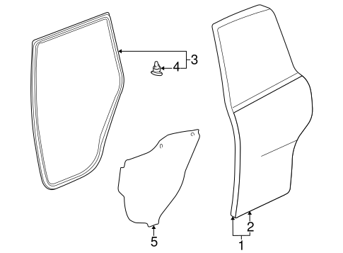 Door Components For 1998 Toyota Rav4