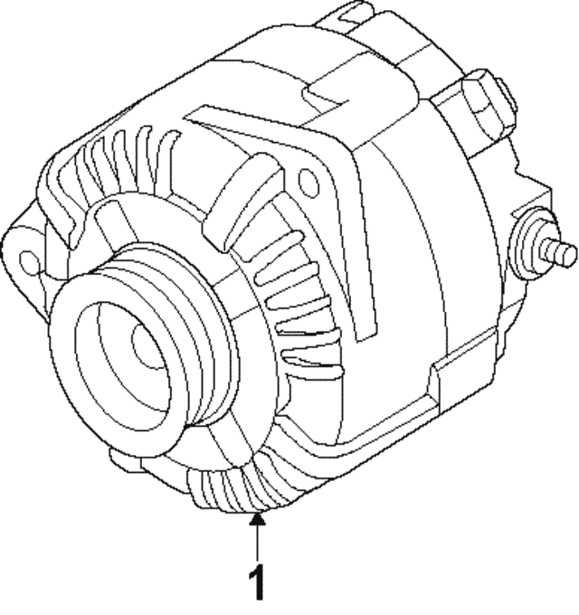 Alternator - Nissan (2310M-3TA1BRW)