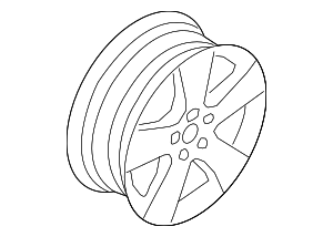 Wheel, Alloy - BMW (36-11-6-772-245)