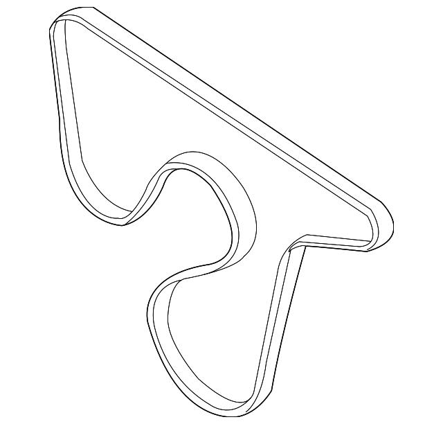1996 2004 Gm Belt 19355374