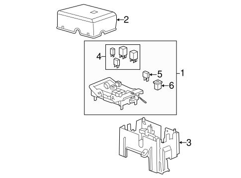fuse relay for 2009 gmc sierra 1500. Black Bedroom Furniture Sets. Home Design Ideas