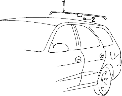 Roof Rack Left[driver]