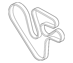 Serpentine Belt - BMW (11-28-7-628-279)