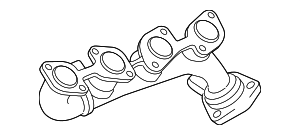Exhaust Manifold - Toyota (17104-50151)
