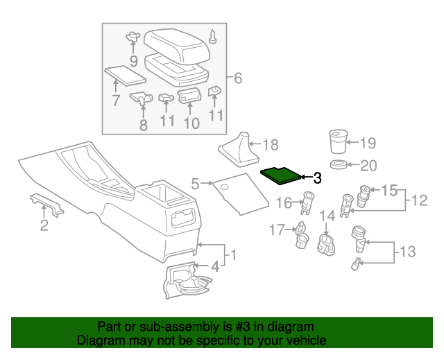 Console Assembly Mat
