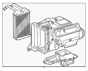 Heater Assembly - Toyota (87150-42060)