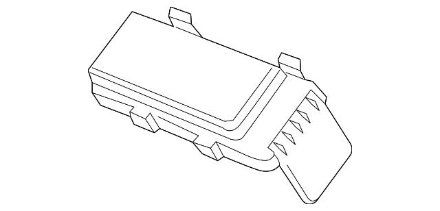 2014-2015 Acura MDX Cover, Main Fuse Box (Upper) 38246-TZ5-A01    OEMAcuraPart   Acura Mdx Fuse Box      OEM Acura Parts