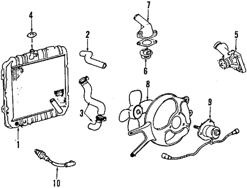 Mitsubishi Precis Engine Diagram
