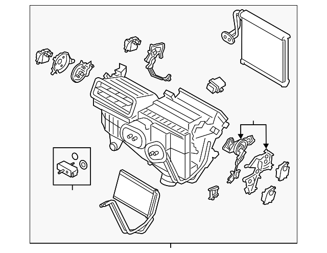 ac  u0026 heater assembly