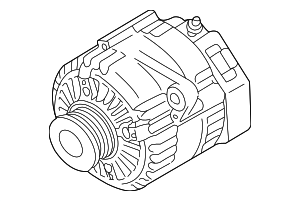 Alternator - Land-Rover (YLE102480)