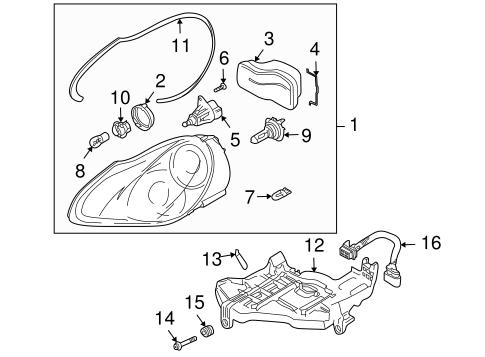 Porsche Cayenne Light Diagram