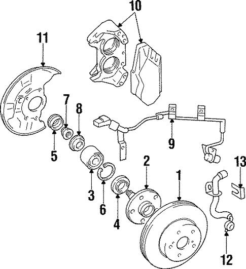 Anti Lock Brakes For 1997 Toyota Supra