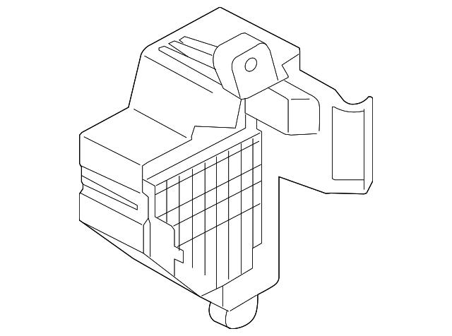 volkswagen fuse box  1k1