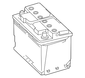 Vehicle Battery - Mercedes-Benz (000-982-77-10)