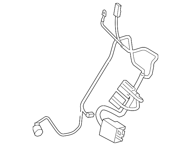 2015 2018 Land Rover Discovery Sport Wire Harness Lr067043