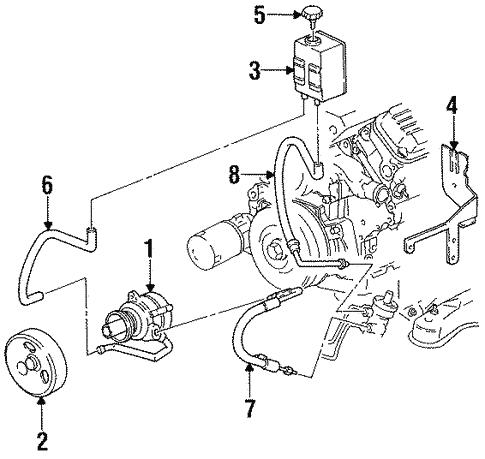 pump & hoses for 2001 pontiac firebird | gmpartsnow  gmpartsnow