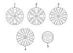 Wheel Cover - Toyota (42602-02520)