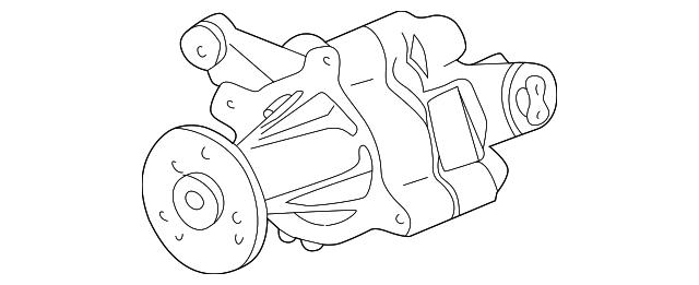 1995 2001 Bmw Power Steering Pump 32 41 1 092 016