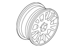 Wheel, Alloy - Volvo (30664610)